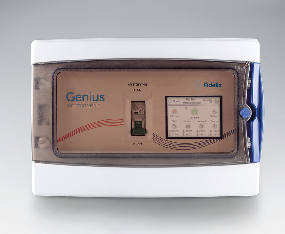 Homepage product photo; Genius process controller